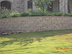 Erosion Control Project - Retaining Wall for Erosion Control