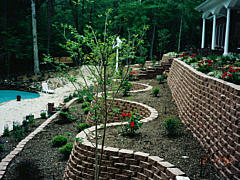 Other Services - Landscaping combined with erosion control