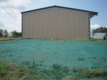 Hydroseeding Project - After Application
