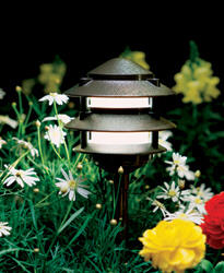 FX Luminaire Lighting - Outdoor Path and Bed Lighting