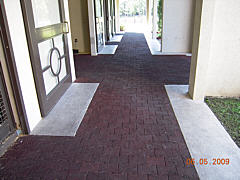 Other Services - Exterior Rural Patio Walkway