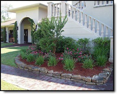 Texas residential landscaping